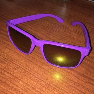 Purple Oakley Sunglasses